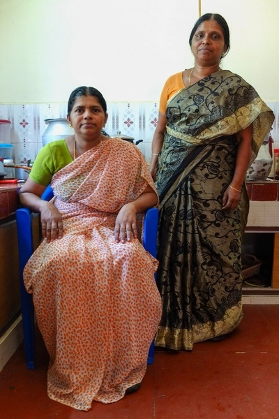 Padmini and Ajitha, Vellanad, India, 2013