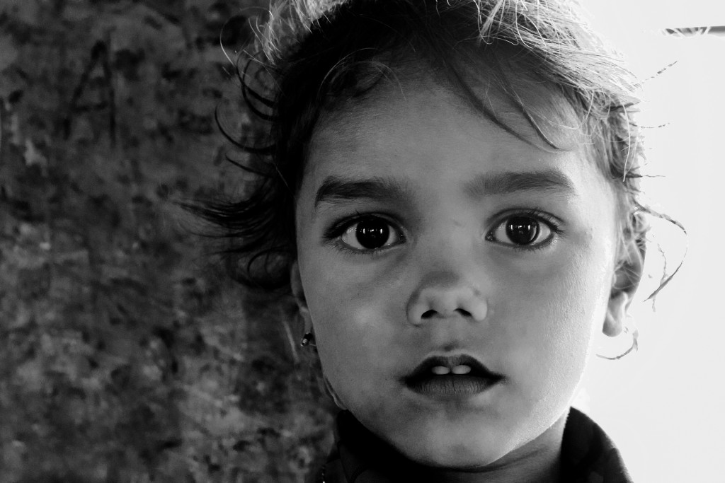 Little girl portrait, Chittorgarh, Rajasthan, India