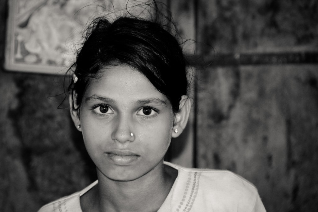 Girl portrait, Bundi, Rajasthan, India